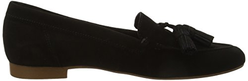 Black Office Retro Loafers Black Women's Suede ZwHvqwtg