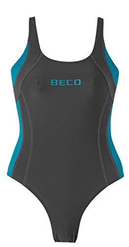 Beco–Traje de baño para mujer AQUA gris/azul petróleo