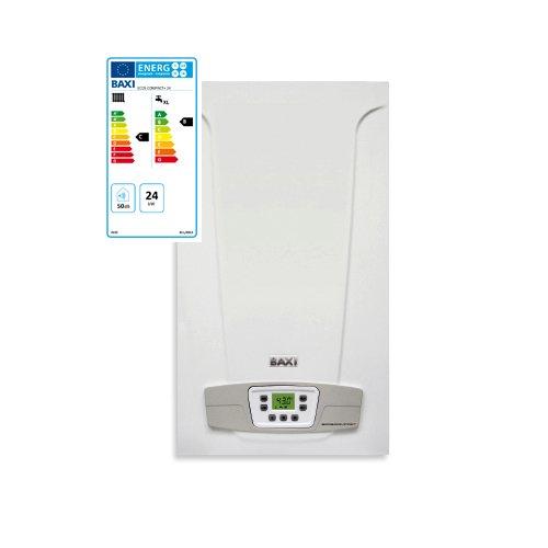 Baxi Eco5 Compact+ - Caldera de gas, 24 kW, ErP, cámara abierta, alimentación a metano: Amazon.es: Hogar