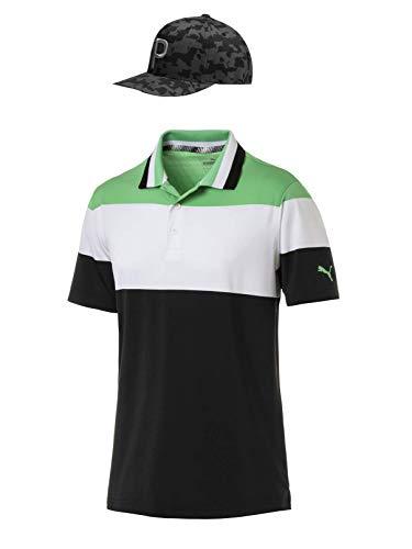 online store c884c 8b4ff Rickie Fowler Masters Puma Golf Polo   Hat Bundle (2019)   Nineties Polo