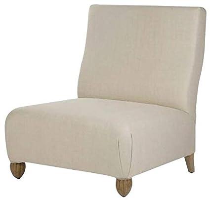 Magnificent Amazon Com Euroluxhome Slipper Chair Jolie Raw Natural Silk Creativecarmelina Interior Chair Design Creativecarmelinacom