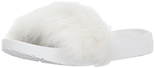 UGG Women's Royale Flat Sandal, White, 12 M US by UGG