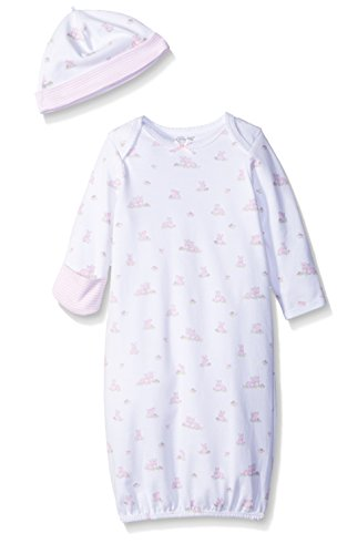Little-Me-Baby-Girls-Gown-and-Hat