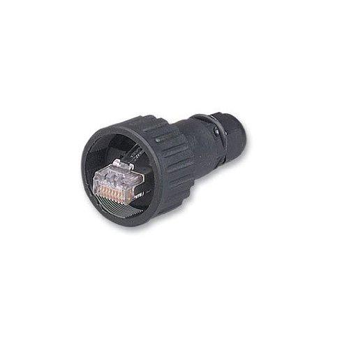 Brad enqam315rj-lnxx Industrial Ethernet RJ-45sellado campo acoplable recto conector, hembra, 4.0A corriente nominal de...