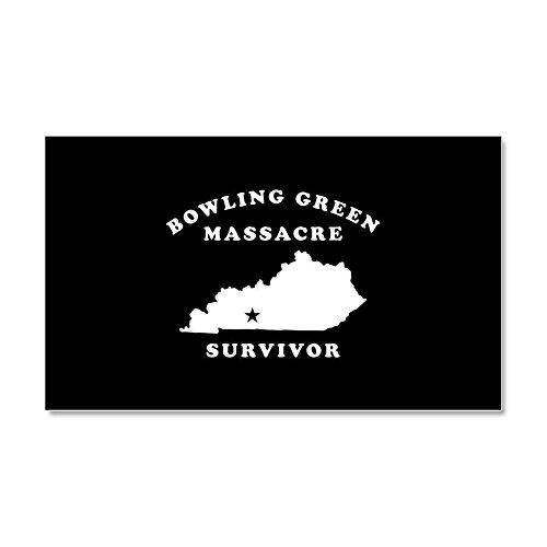 CafePress - Bowling Green Massacre Survivor - Car Magnet, 20