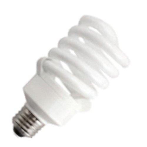 (TCP 5801841k CFL Spring Lamp - 75 Watt Equivalent (only 18W used!) Bright White (4100K) TruStart Spiral Light Bulb)
