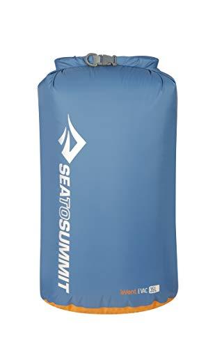 Sea to Summit eVAC Dry Sack,Blue,35-Liter (Sea To Summit 35 Liter Dry Sack)