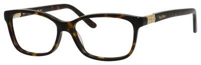 MAX MARA Eyeglasses 1219 0Lhd Dark Havana - Mara Max Glasses