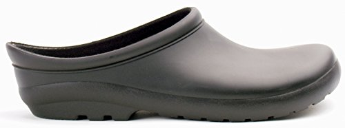 Sloggers 260BK09 Womens Premium Clog, Black, Size 9