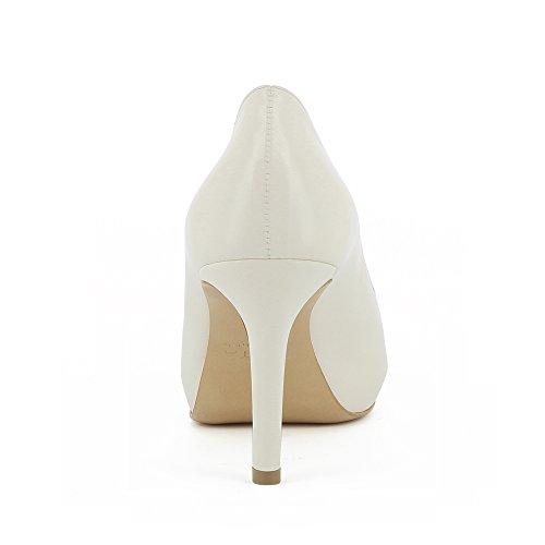 Elisa Peeptoe Shoes Damen Evita Glattleder wq5Z44zt