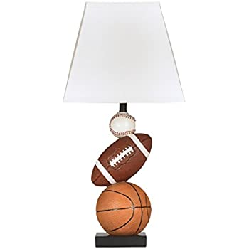 Ashley furniture signature design nyx sports table lamp ashley furniture signature design nyx sports table lamp hardback shade brown mozeypictures Images