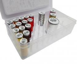 scatola da cucito per 42 Bobine TOKO-Kurzwaren