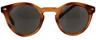 Women's Reading Sunglasses 1960's Inspired Classic Round Shape by ICU