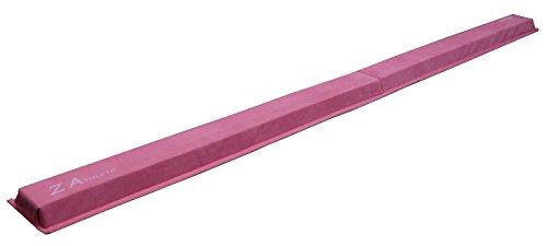 Low Training (Z Athletic Gymnastics Foldng Training Low Beam, Pink, 9 Feet)