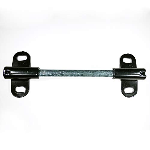 "Wheelbarrow TIRE AXLE Shaft with Bracket 5/8"" Diameter X 9 1/2"" Long"