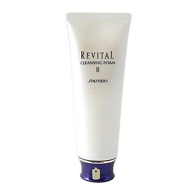 Shiseido Revital Cleansing Foam - Shiseido Revital Cleansing Foam Ii 4.4oz, 125g Skincare Cleanser NEW