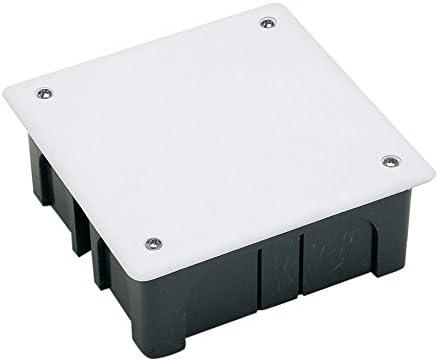 FAMATEL 3201T - Caja empotrar 100x100x45 c/tornillos: Amazon.es: Bricolaje y herramientas