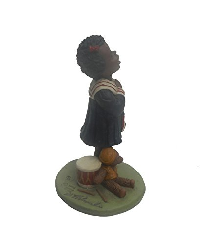 All God's Children Nellie, African American Girl With Flag