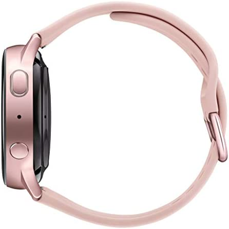 Samsung Galaxy Watch Active 2 (40mm, GPS, Bluetooth) Smart Watch with Advanced Health Monitoring, Fitness Tracking, and Long lasting Battery, Pink Gold (US Version) 3