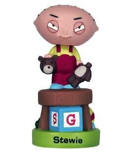 (Wacky Wobblers Family Guy Stewie 2 Bobble Head by Funko )