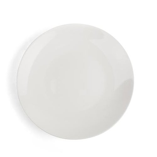 Plato de postre de porcelana Fine Bone China 20,5/cm Juego de 6