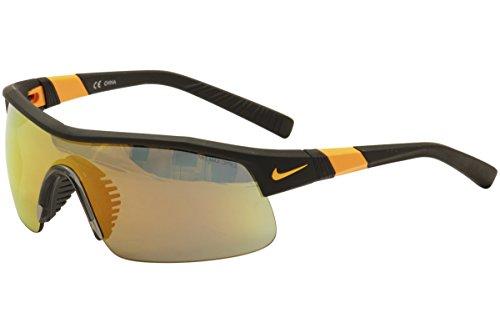 Nike Grey with Mild Orange Flash Lens Show X1 R Sunglasses, Matte - Nike Cheap Sunglasses