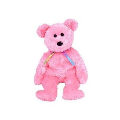 beee5a046f6 Amazon.com  TY Beanie Baby - SHERBET the Bear (Pink Version)  Toys ...