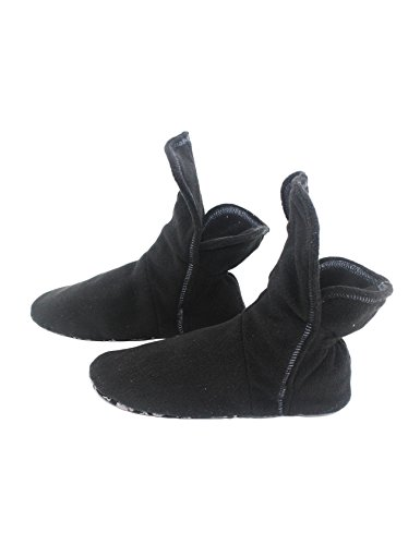 negro estar de Zapatillas para por Raikou mujer Negro casa p48qanxUw