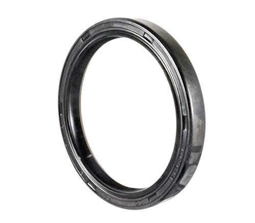 Oil and Grease Seal TC 55X68X8 Rubber Double Lip with Spring 55mmX68mmX8mm. by EAI Parts (Image #2)