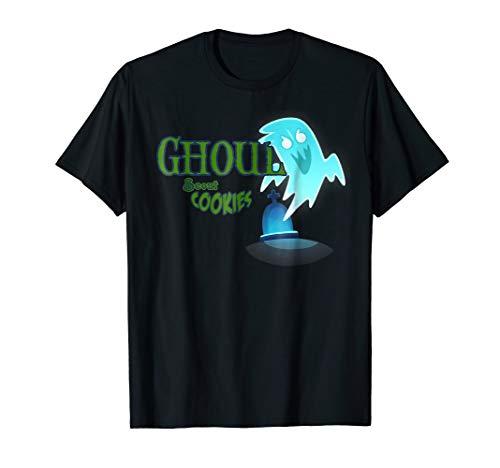 Ghoul Scout Cookies Girls Joke Halloween Costume Mask Shirt