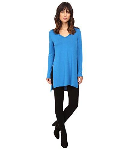 Karen Kane Women's Hi-Lo Sweater Knit Tunic Lake Shirt