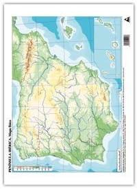 PACK 50 MAPAS ESPAÑA FISICO MUDOS: Amazon.es: Bricolaje y herramientas