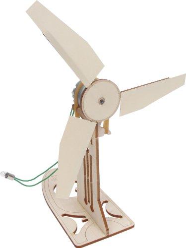 Pitsco Laser-Cut Basswood Wind Generator Kit (Individual Pack)