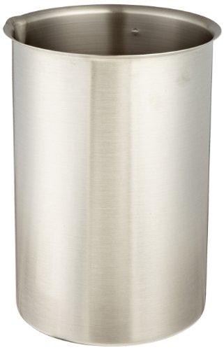 (Polar Ware 4000B Stainless Steel Griffin Style Beaker, 4000 mL Capacity, 6-1/8