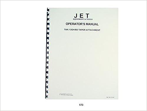 Jet JWTS-10JF Table Saw Operator Instruction & Parts Manual: Jet