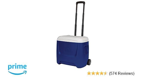 Amazon.com : Igloo Island Breeze 28 Qt. Roller Cooler : Sports & Outdoors