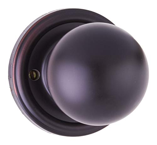 Weslock 00411D1D1SL20 Barrington Privacy Lock with Adjustable Backset and Full Lip Strike Oil Rubbed Bronze Finish
