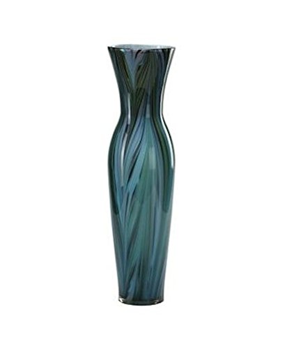 (Cyan Design 02921 Tall Peacock Feather Vase)