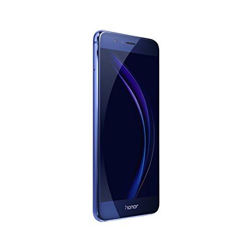 Huawei Honor 8 Unlocked Smartphone 32 GB Dual Camera - US Warranty (Sapphire Blue)