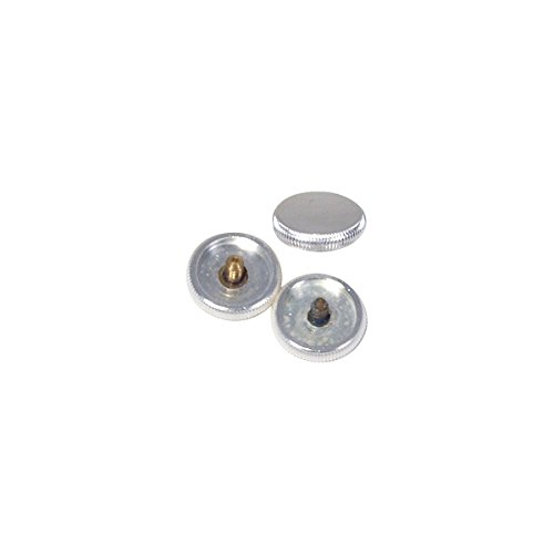 Curry FB-1S Finger buttons, Trumpet Bach Silver