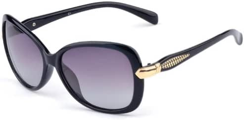 Outray Women's Glitter Oval 55mm Polarized Sunglasses