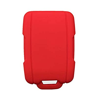Rpkey Silicone Keyless Entry Remote Control Key Fob Cover Case protector Replacement Fit For Chevrolet Silverado 1500 2500 HD 3500 HD Colorado Tahoe Suburban Gmc Yukon Sierra 1500 Canyon M3N-32337100: Automotive