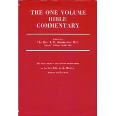 The One Volume Bible Commentary (The best complete one volume commentary on the Holy Bible for the Minister, Student, and Layman)