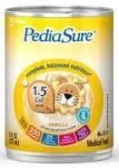 Abbott Pediasure 1.5 - Vanilla 24/8 Fluid Ounce Cans - 1 ...