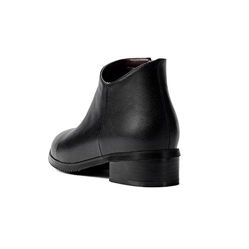 37 SXC02387 Noir AdeeSu 5 Noir PU Sandales Femme EU Compensées ZwnqHq6zxY