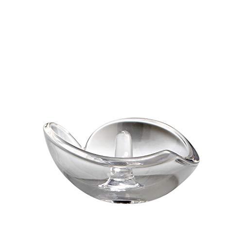 Nambe Heart Ring Holder (5325) (Shaped Heart Dish Crystal)