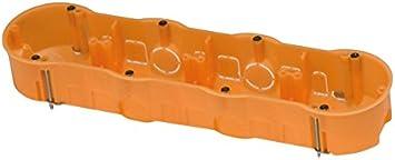 FAMATEL 3261 - Caja empotrar pladur 67x45 cuádruple: Amazon ...