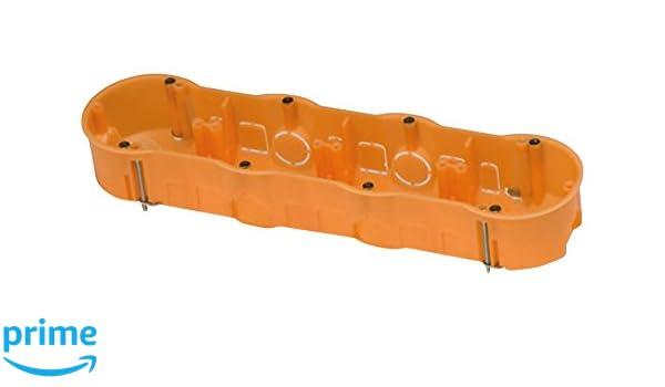 FAMATEL 3261 - Caja empotrar pladur 67x45 cuádruple: Amazon.es: Bricolaje y herramientas