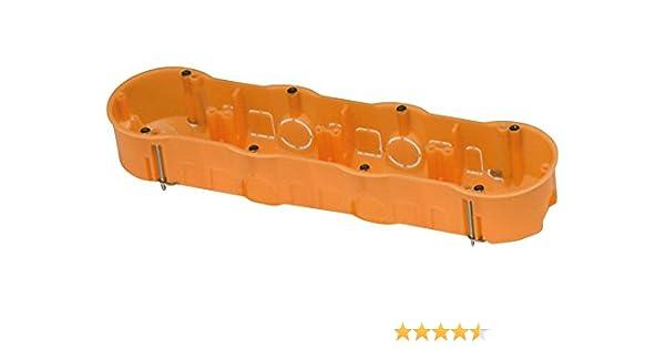 FAMATEL 3261 - Caja empotrar pladur 67x45 cuádruple: Amazon.es ...