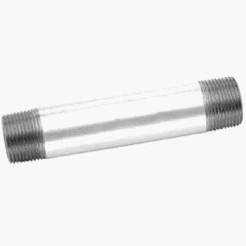 "Anvil 8700150306, Steel Pipe Fitting, Close Nipple, 3/4"" NPT Male, 1-3/8"" Length, Galvanized Finish"